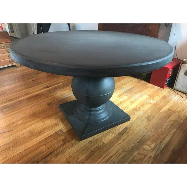 Grey Concrete Round Dining Table - Image 11 of 11