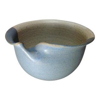 Vintage Handmade Pinched Bowl