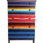 Image of Mexican Blanket Dresser