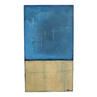 Cool Rain, Gold Leaf V. 2017 Original Oil and Pastel