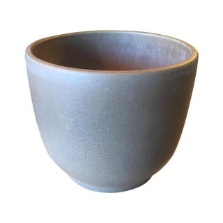 Vintage Brown Ceramic Gainey Pot