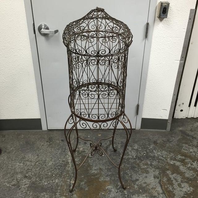 Decorative Iron Bird Cage - Image 10 of 10