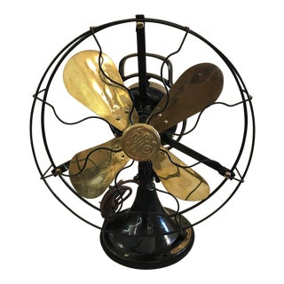 Antique Ge Electric Fan, 1920s