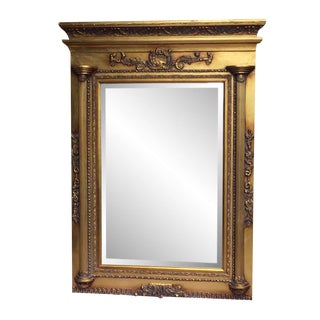 Federal Style Gilded Mantel Mirror