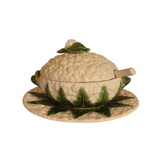 Image of Covered Tureen From Portugal - 4 Pcs.
