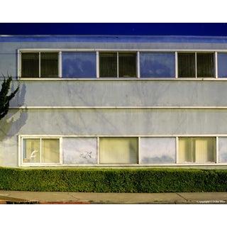 """Windowed Wall,"" Night Photograph by John Vias"