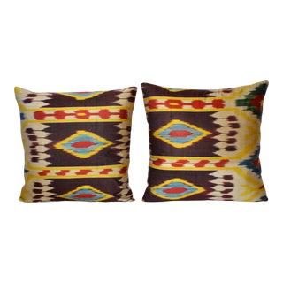 Fabric Ikat Pillow 005