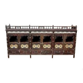 British Colonial Rosewood Sideboard