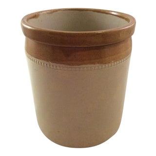19th Century Bristol Stoneware Crock