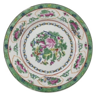 Decorative Vintage Chinoiserie Asian Plate