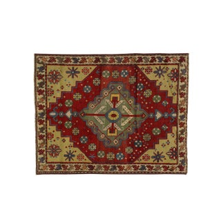 "Leon Banilivi Antique Shirvan - 3'6"" X 4'4"""