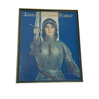 Mid Century Joan of Arc Poster