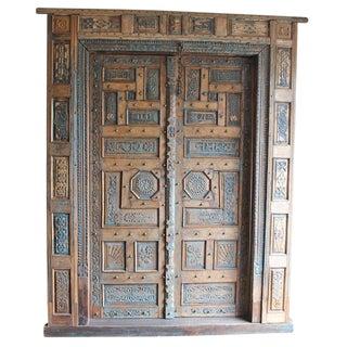 Antique Teak Rajasthan Door
