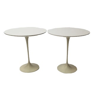 1st Edition Tulip Side Tables - Pair