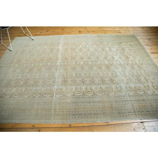 "Vintage Distressed Kaisary Carpet - 6'7"" x 9'5"" - Image 7 of 10"