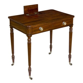 Regency Mahogany Chamber Writing-Table