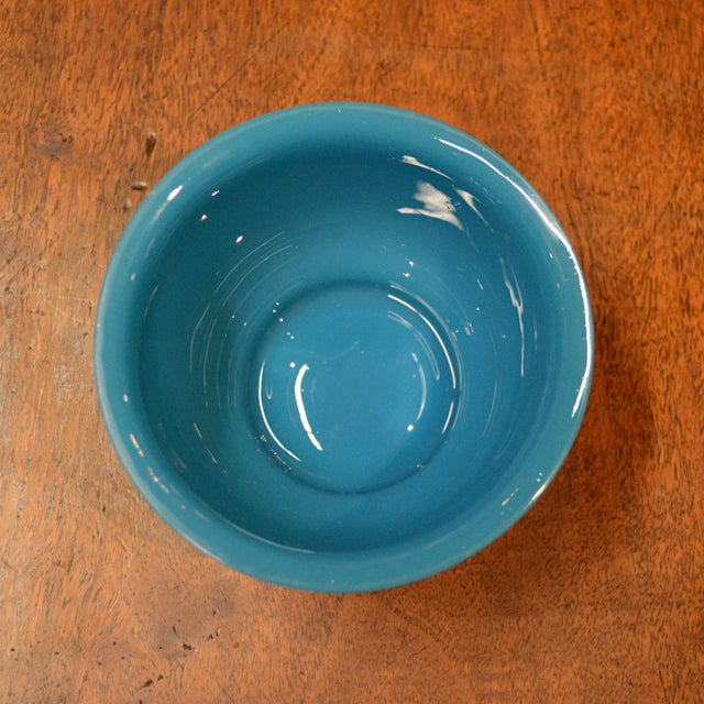 Peking Blue Glass Bowl - Image 4 of 4