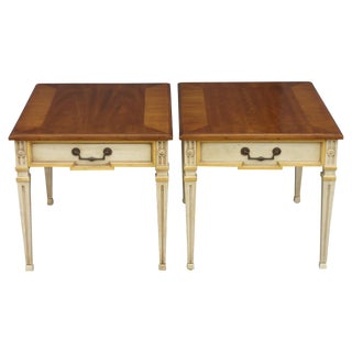 Vintage Heritage Side Tables - A Pair