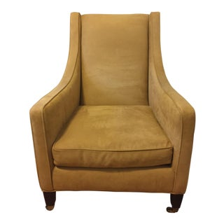 Restoration Hardware Modern Suede Chair