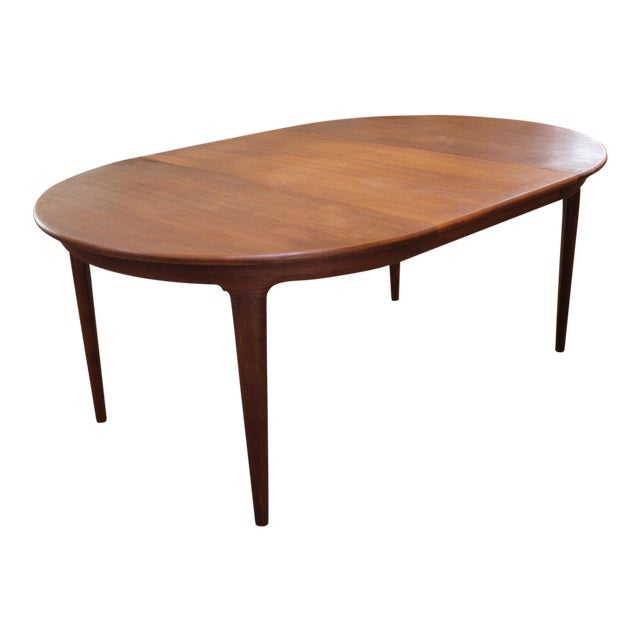 soro stole round teak expandable dining table chairish