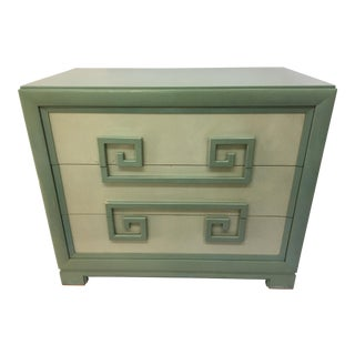 Kittinger Green Greek Key Chest of Drawers