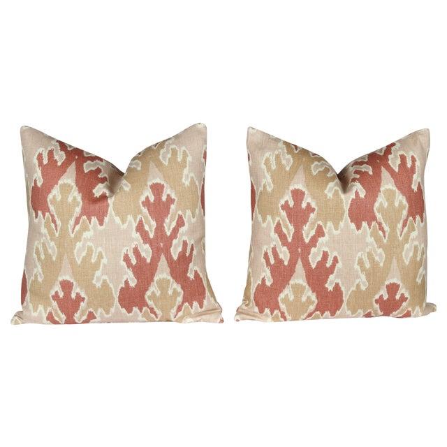 Image of Apricot Bengal Bazaar Pillows - A Pair