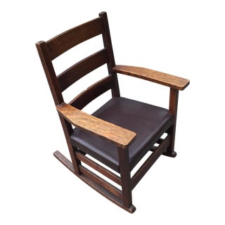 Antique Stickley Child's Rocker