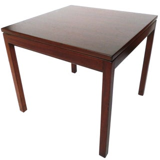 Jens Risom Danish Modern Walnut Side Table