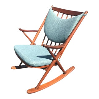 Frank Reenskaug Danish Rocking Chair