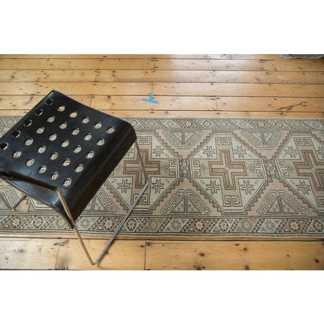 "Vintage Oushak Rug Runner - 2'6"" X 8'7"" - Image 7 of 8"