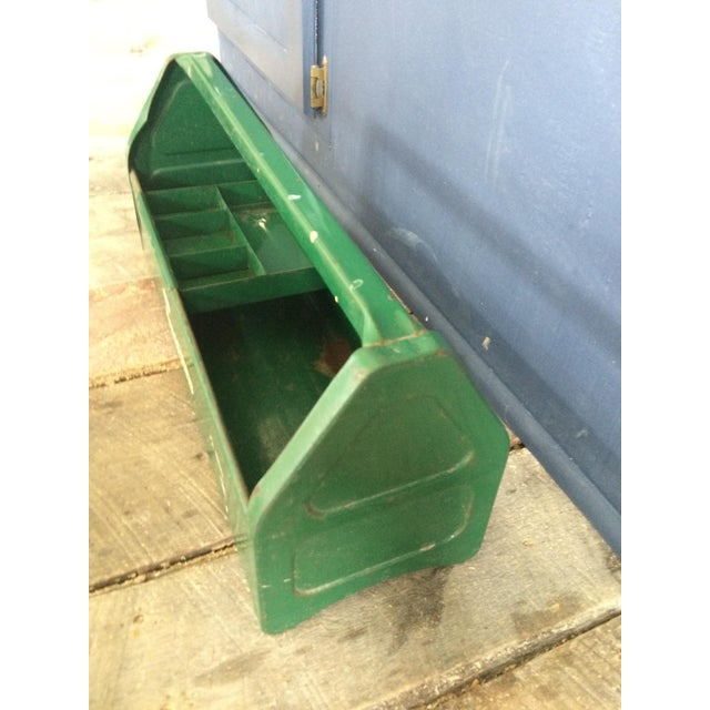 Image of Rustic Green Tool Caddy