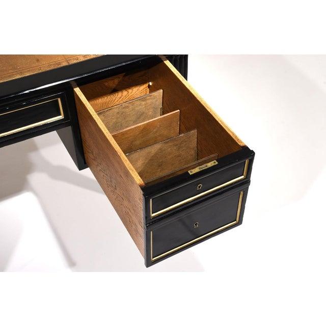 Image of French Louis XVI-style Ebonized Desk
