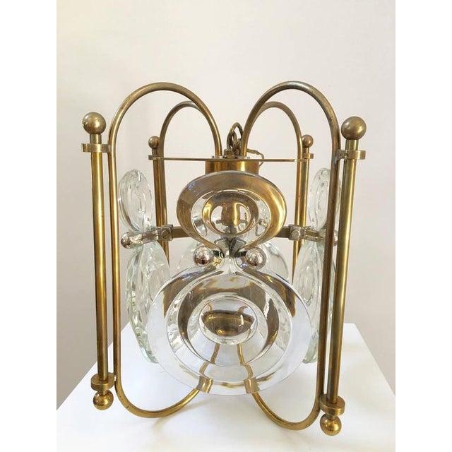 Gaetano Sciolari Lantern Chandelier - Image 5 of 8