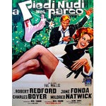 Image of Vintage Italian Movie Poster Barefoot in the Park
