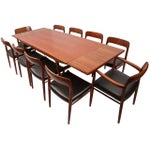 Image of Niels Moller Teak Dining Chairs - Set of 10