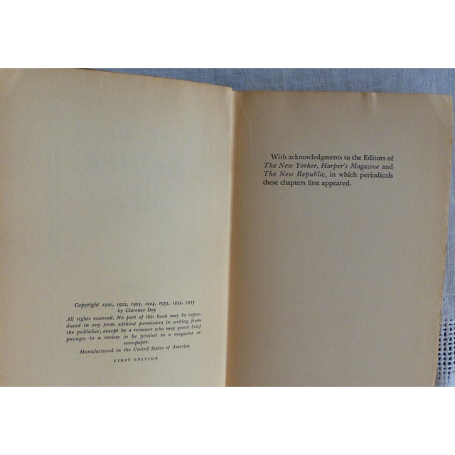 Life With Father, 1935, 1st Edition - Image 6 of 8