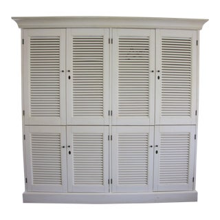 Restoration Hardware Shutter Double Armoire