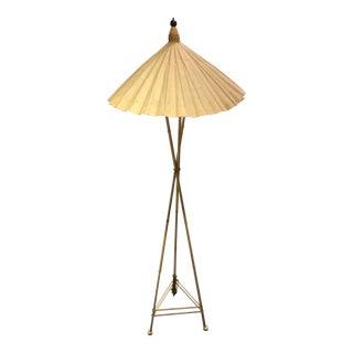 Vintage Frederick Cooper Parasol Floor Lamp