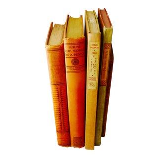 Vintage Travel Books, D.H. Lawrence - Set of 5