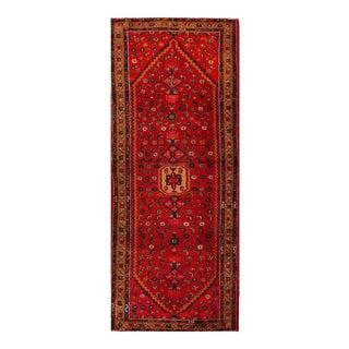 "Apadana - Vintage Persian Hamadan Rug, 3'7"" x 10'8"""