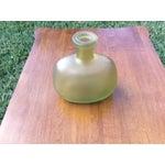 Image of Gold Vintage Glass Vase
