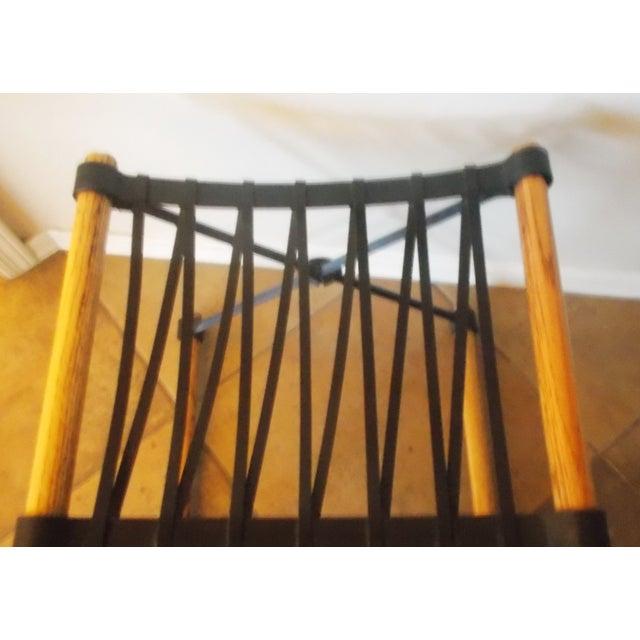 Cleo Baldon Wrought Iron Stool - Image 3 of 4
