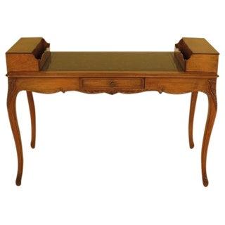 French Louis XV Walnut Writing Desk