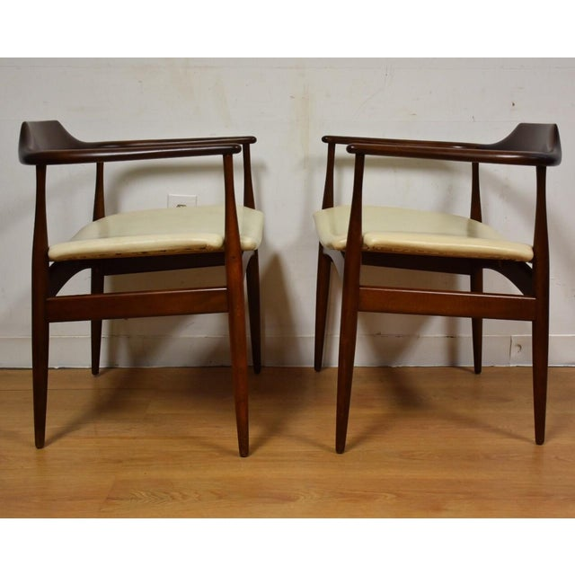 Ib Kofod Larsen for Selig Chairs - A Pair - Image 5 of 11