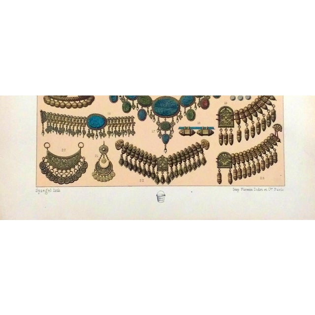 1888 Jewelry of Ancient Asia Lithograph - Image 6 of 7