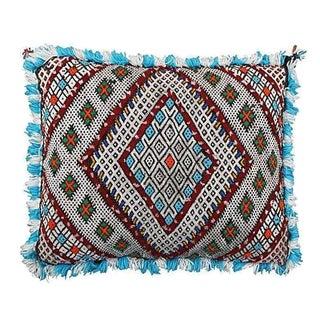 Moroccan Berber Blue Sham Pillow Cover