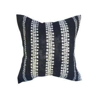 Tribal Linen Shibori Pillow