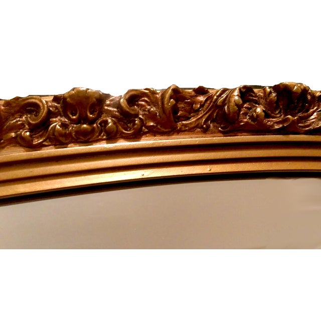 Image of 1920s Gilded Garland Mirror