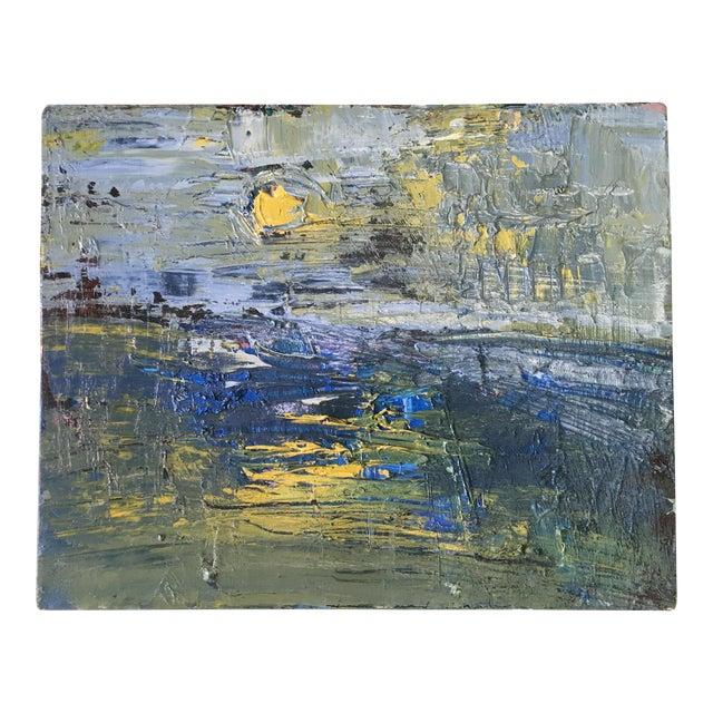 Jenny Vorwaller Sunset Oil Painting - Image 1 of 3