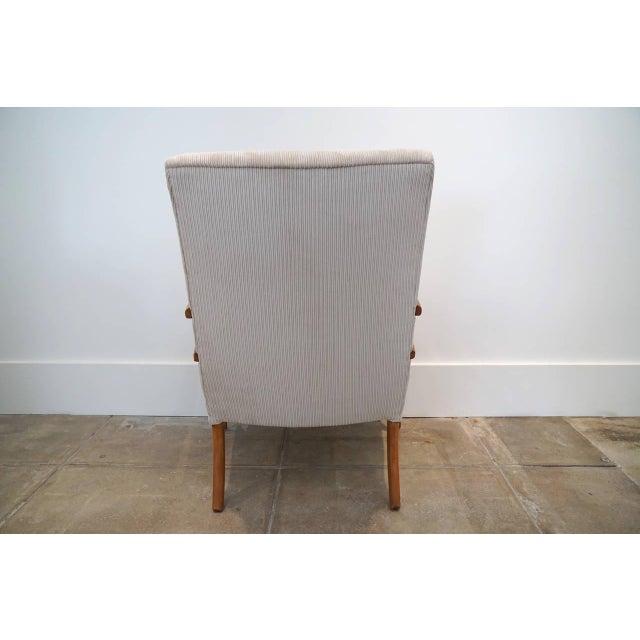 American Sabre Leg Armchair - Image 5 of 5